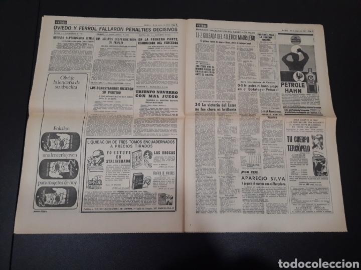 Coleccionismo deportivo: 30/01/1967. ESPAÑA LUXEMBURGO COPA BETIS CASTELLON CEUTA FERROL OVIEDO. - Foto 5 - 195260163