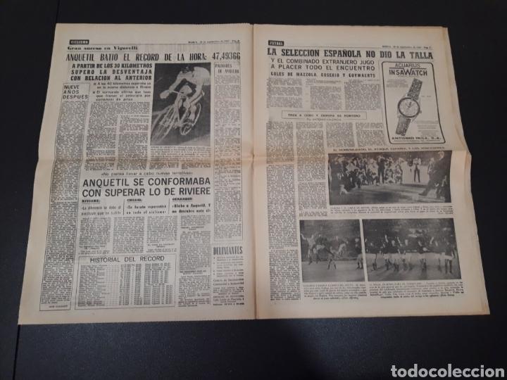 Coleccionismo deportivo: 28/09/1967. HOMENAJE A ZAMORA ESPAÑA SEL INTERNACIONAL HIBERNIANS MANCHESTER COPA EUROPA. - Foto 2 - 195260446