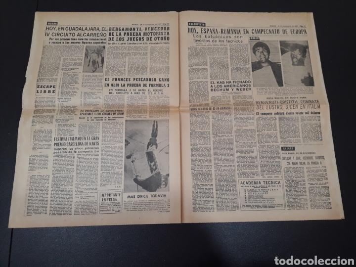 Coleccionismo deportivo: 28/09/1967. HOMENAJE A ZAMORA ESPAÑA SEL INTERNACIONAL HIBERNIANS MANCHESTER COPA EUROPA. - Foto 6 - 195260446