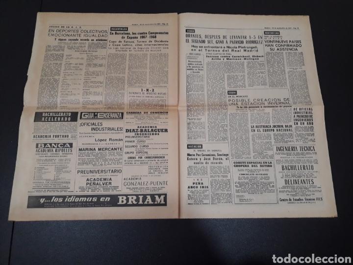 Coleccionismo deportivo: 28/09/1967. HOMENAJE A ZAMORA ESPAÑA SEL INTERNACIONAL HIBERNIANS MANCHESTER COPA EUROPA. - Foto 7 - 195260446