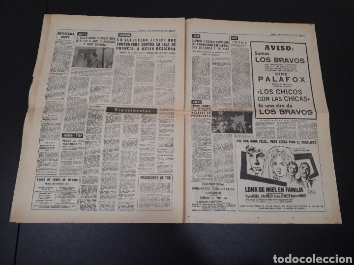 Coleccionismo deportivo: 28/09/1967. HOMENAJE A ZAMORA ESPAÑA SEL INTERNACIONAL HIBERNIANS MANCHESTER COPA EUROPA. - Foto 8 - 195260446