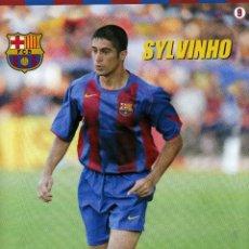 Coleccionismo deportivo: SYLVINHO - F. C. BARCELONA. Lote 195299622