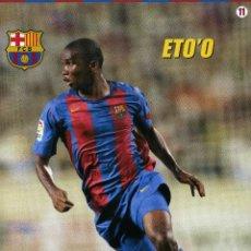 Coleccionismo deportivo: ETO´O - F. C. BARCELONA. Lote 195299767