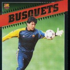 Coleccionismo deportivo: BUSQUETS - F. C. BARCELONA . Lote 195301037