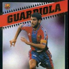 Coleccionismo deportivo: GUARDIOLA - F. C. BARCELONA . Lote 195303792