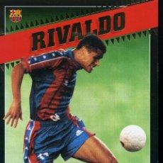 Coleccionismo deportivo: RIVALDO - F. C. BARCELONA . Lote 195304200