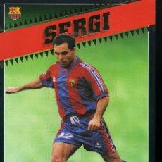 Coleccionismo deportivo: SERGI - F. C. BARCELONA . Lote 195304405