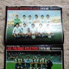 Coleccionismo deportivo: AS COLOR 445 PÓSTER SOCIEDAD DEPORTIVA IBIZA , LAS PALMAS ATLÉTICO . Lote 195334920