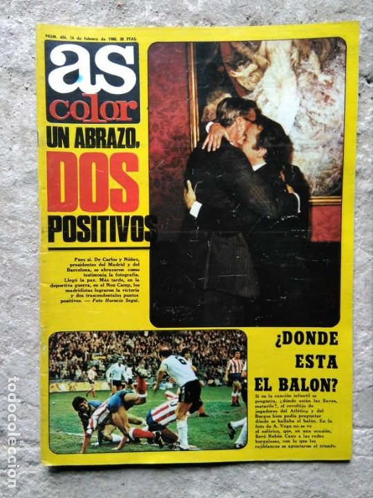 Coleccionismo deportivo: AS COLOR 456 POSTER REAL BETIS BALOMPIÉ 1979-80 - Foto 2 - 195335738