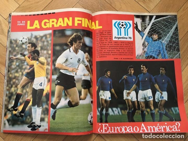Coleccionismo deportivo: LOTE 4 REVISTAS DON BALON EXTRA ESPECIAL MUNDIAL ARGENTINA 1978 FINAL - Foto 2 - 195342673