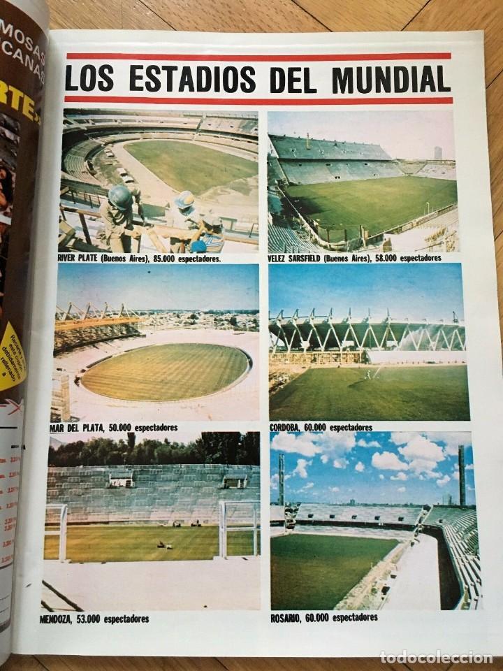 Coleccionismo deportivo: LOTE 4 REVISTAS DON BALON EXTRA ESPECIAL MUNDIAL ARGENTINA 1978 FINAL - Foto 7 - 195342673