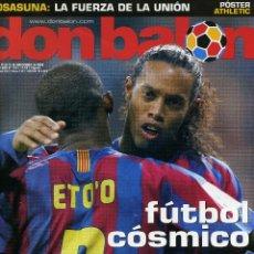 Coleccionismo deportivo: DON BALÓN - REAL MADRID 0 FC BARCELONA 3 - FÚTBOL CÓSMICO. Lote 195354138