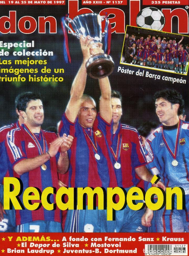 DON BALON - BARÇA RECAMPION (Coleccionismo Deportivo - Revistas y Periódicos - Don Balón)