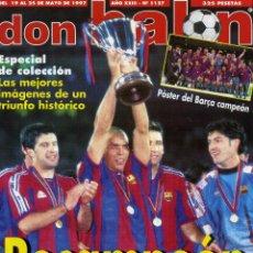 Coleccionismo deportivo: DON BALON - BARÇA RECAMPION. Lote 195354181