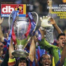 Coleccionismo deportivo: DON BALON - FINAL CHAMPIONS 2006 - FC BARCELONA & ARSENAL. Lote 195354235