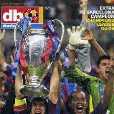 Coleccionismo deportivo: DON BALON - FINAL CHAMPIONS 2006 - FC BARCELONA & ARSENAL. Lote 195354266