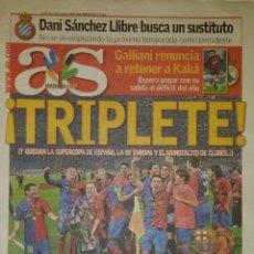 Coleccionismo deportivo: FINAL CHAMPIONS 2009 - FC BARCELONA & MANCHESTER UNITED. Lote 195359152
