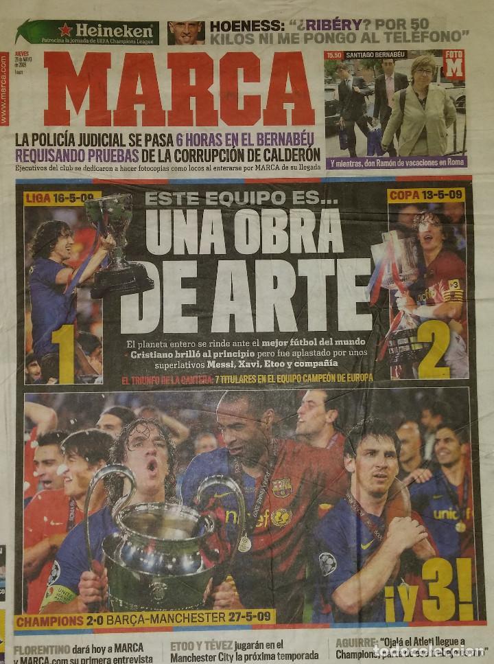 FINAL CHAMPIONS 2009 - FC BARCELONA & MANCHESTER UNITED (Coleccionismo Deportivo - Revistas y Periódicos - Marca)