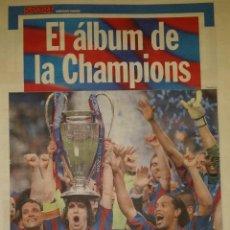 Coleccionismo deportivo: FINAL CHAMPIONS 2006 - FC BARCELONA & ARSENAL. Lote 195359927