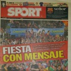 Coleccionismo deportivo: FINAL CHAMPIONS 2011 - FC BARCELONA & MANCHESTER UNITED. Lote 195360793