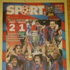 Coleccionismo deportivo: FINAL CHAMPIONS 2006 - FC BARCELONA & ARSENAL. Lote 195361088