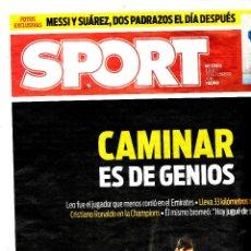 Coleccionismo deportivo: SPORT - CAMINAR ES DE GENIOS. Lote 195361128