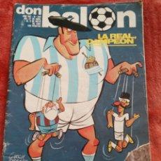 Coleccionismo deportivo: REVOSTA DON BALON N.342 AÑO 1982. Lote 195370032