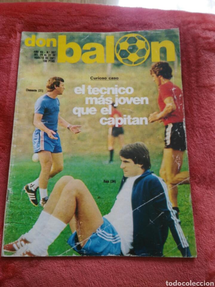REVOSTA DON BALON N.307 AÑO 1981 (Coleccionismo Deportivo - Revistas y Periódicos - Don Balón)