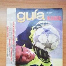 Coleccionismo deportivo: GUÍA MARCA DE LA LIGA 2002. Lote 195403983