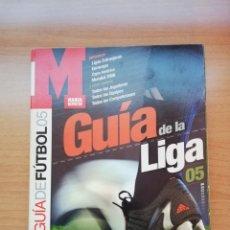 Coleccionismo deportivo: GUÍA MARCA DE LA LIGA 2005. Lote 195407515