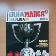 Coleccionismo deportivo: GUÍA MARCA DE LA LIGA 2008. Lote 195411425