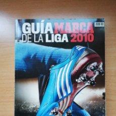 Coleccionismo deportivo: GUÍA MARCA DE LA LIGA 2010. Lote 195413998