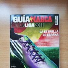 Coleccionismo deportivo: GUÍA MARCA DE LA LIGA 2011. Lote 195415140