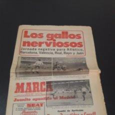 Collectionnisme sportif: 21/10/1977. ATLETICO BARCELONA VALENCIA RAYO JAEN CRUYFF RESTO JORNADA LIGA.. Lote 195450795
