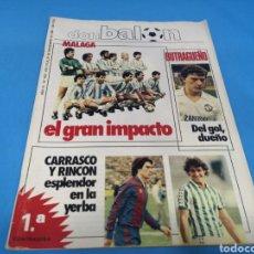 Colecionismo desportivo: REVISTA DON BALÓN NÚMERO 423. NOVIEMBRE 1983. Lote 195451478