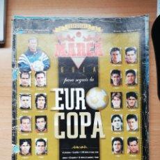Coleccionismo deportivo: GUÍA MARCA DE LA EUROCOPA INGLATERRA 96. Lote 195465223