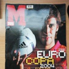 Coleccionismo deportivo: GUÍA MARCA DE LA EUROCOPA DE PORTUGAL 2004. Lote 195473443