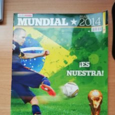 Coleccionismo deportivo: GUÍA MARCA DEL MUNDIAL DE BRASIL 2014. Lote 195479226