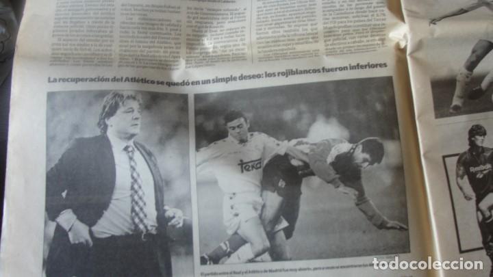 Coleccionismo deportivo: DIARIO AS 5 / 11 / 1994 DEBUT RAUL BERNABEU - 4 - 2 REAL MADRID ATLETICO - ENVIO GRATIS - Foto 4 - 195490145