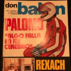 Coleccionismo deportivo: FÚTBOL DON BALÓN 92 - REXACH - CHURRUCA - ORANTES - PALOMO - SLAVNIC - MARAÑON ESPANYOL - BARÇA - AS. Lote 195497066