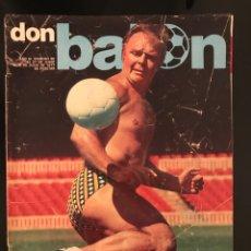 Coleccionismo deportivo: FÚTBOL DON BALÓN 90 - KUBALA - BARÇA - LEIVINHA ATLÉTICO - JUANITO - ARGENTINA 78 - AS MARCA SPORT. Lote 195503145