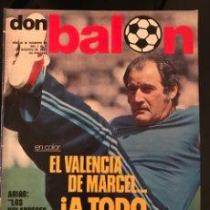 Coleccionismo deportivo: FÚTBOL DON BALÓN 95 - VALENCIA - CRUYFF - ATLÉTICO - ANGEL NIETO - AS MARCA SPORT CROMOS PÓSTER. Lote 195504748