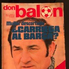 Coleccionismo deportivo: FÚTBOL DON BALÓN 29 - PÓSTER CASZELY ESPANYOL - COPAS EUROPEAS - BARÇA - ESPAÑA - AYALA ATLÉTICO. Lote 195506672