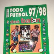 Coleccionismo deportivo: TODO FUTBOL 97/98 DON BALON. Lote 195541208