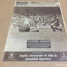 Colecionismo desportivo: 16-10-1961 DOBLE JORNADA LIGA: TENERIFE R MADRID OVIEDO BARCELONA/ R MADRID ZARAGOZA BARCELONA BETIS. Lote 195646508