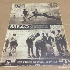 Collectionnisme sportif: 16-10-1956 AT BILBAO BARCELONA AT MADRID R MADRID JAEN VALENCIA SEVILLA CONDAL VALLADOLID ZARAGOZA. Lote 195665345