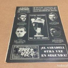 Coleccionismo deportivo: 15-6-1964 COPA EUROPA DE NACIONES ESPECIAL: PARTIDOS Y ESQUEMA HASTA SEMIFINAL. Lote 195778585