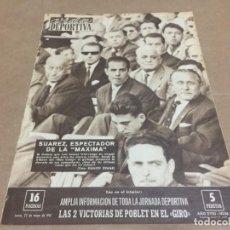 Coleccionismo deportivo: 22-5-1961 ASCENSO TENERIFE / COPA: BARCELONA ESPAÑOL / GALES ESPAÑA ALINEACIONES Y FOTOS. Lote 195780212