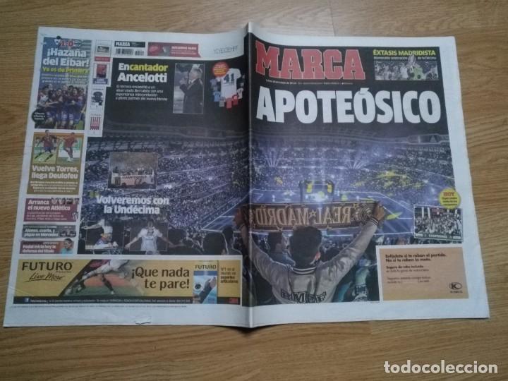 DIARIO MARCA 26 MAYO 2014 EL REAL MADRID - CELEBRACION DE LA DECIMA - APOTEÓSICO (Coleccionismo Deportivo - Revistas y Periódicos - Marca)