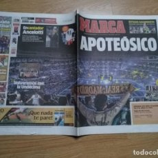 Coleccionismo deportivo: DIARIO MARCA 26 MAYO 2014 EL REAL MADRID - CELEBRACION DE LA DECIMA - APOTEÓSICO . Lote 195904542